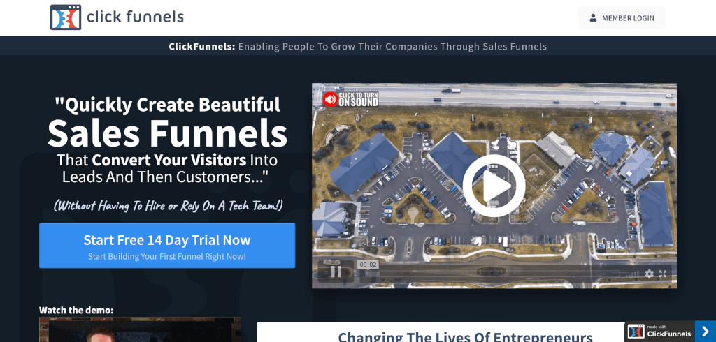 Funnel Software ClickFunnels