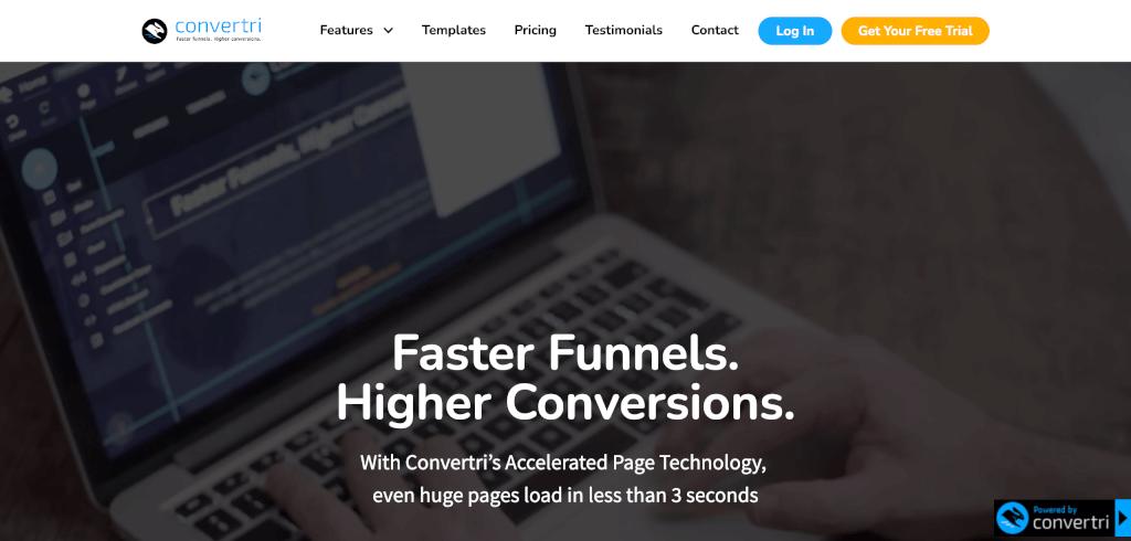 Funnel Software Convertri