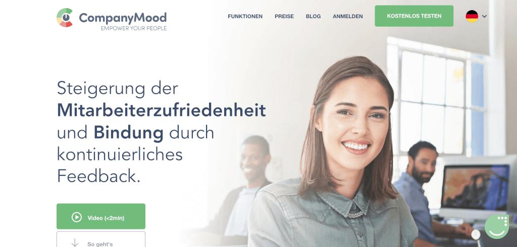 Mitarbeiter Zufriedenheit Tool CompanyMood