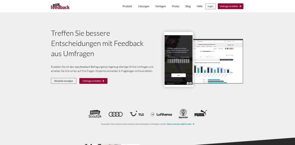 online umfrage online umfrage software online umfrage tool Easyfeedback.jpg