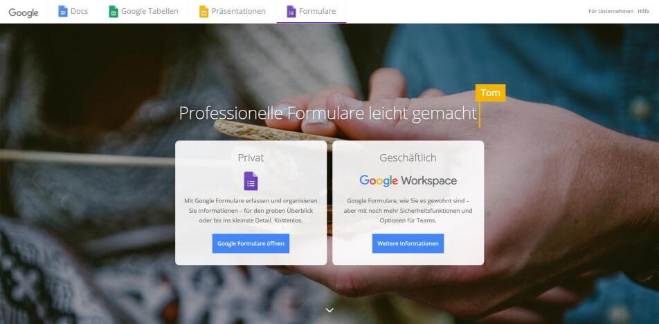 online umfrage online umfrage software online umfrage tool Google Forms.jpg