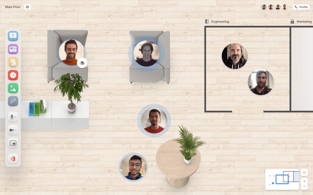 TeamFlow HQ Virtual Workplace Software