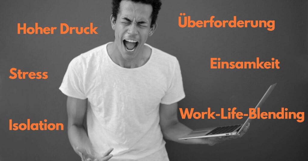 Virtual Workplace Probleme Herausforderungen