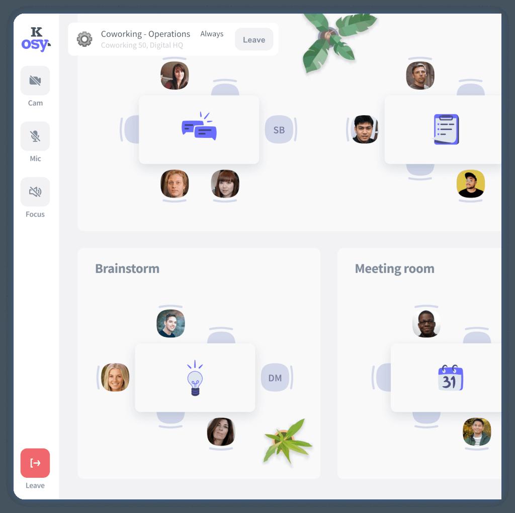 kosy Virtual Workplace Tool