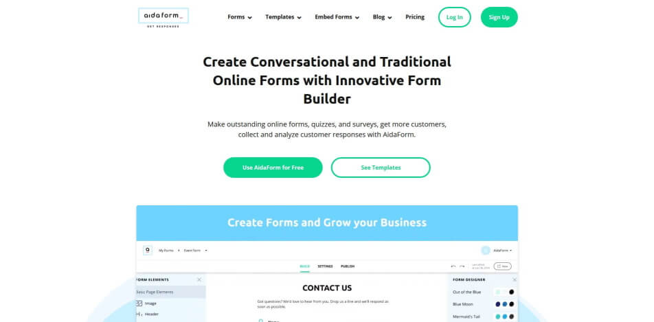 online umfrage online umfrage software online umfrage tool Aida Form.jpg