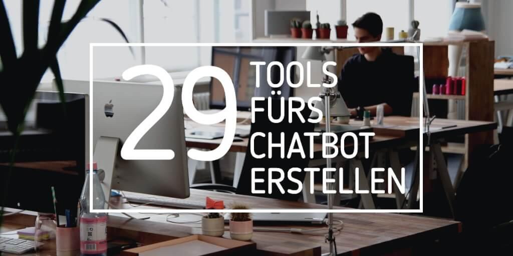 Chatbot erstellen: 29 Tools, mit denen du deinen eigenen Chatbot erstellst