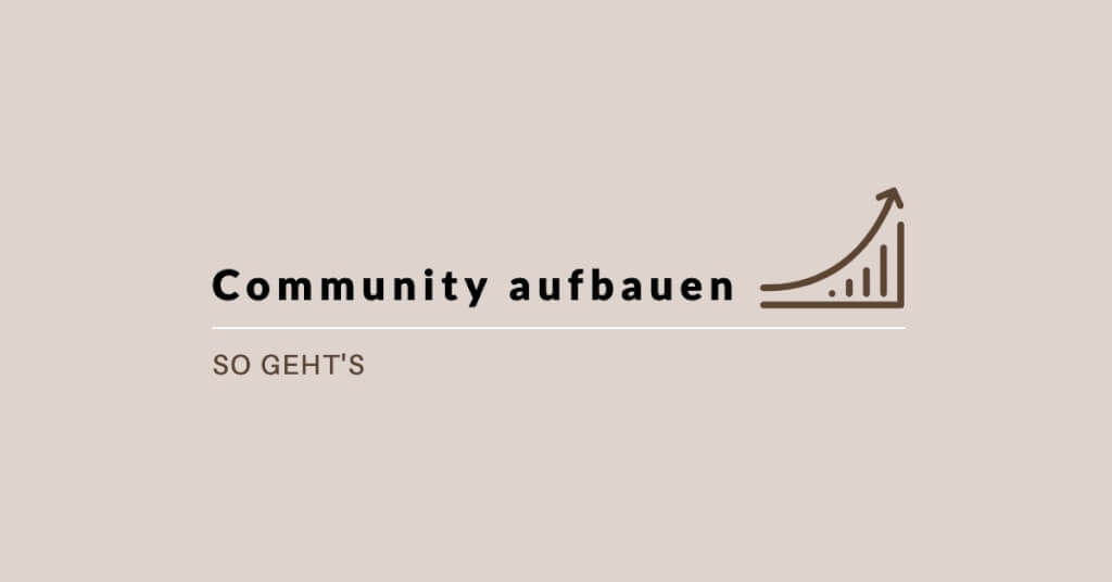 Community Software aufbauen