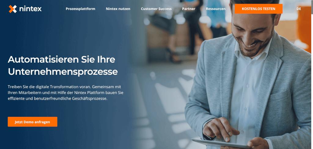 Digitales Vertragsmanagement Nintex