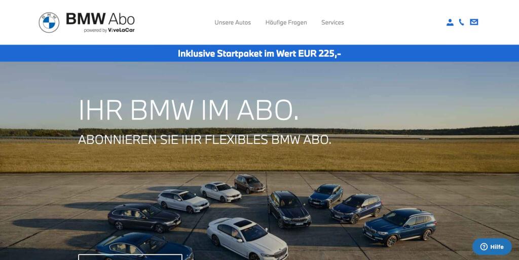 Das original BMW Abo Ihr BMW im flexiblen Abo 1