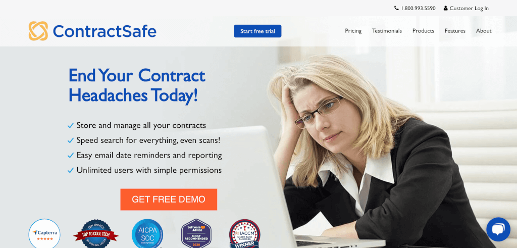 Digitales Vertragsmanagement ContractSafe 1