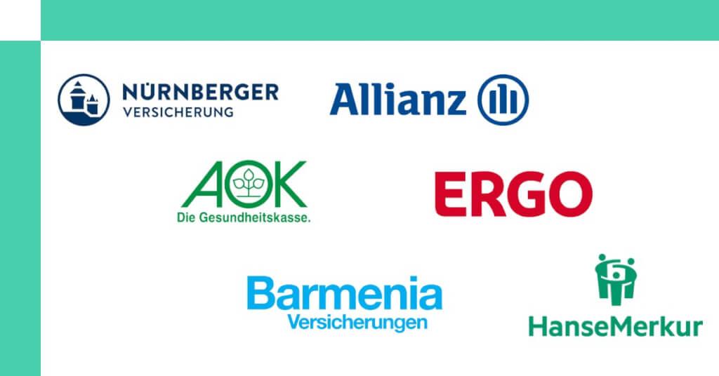 Zahnzusatzversicherung online abschliessen Logos