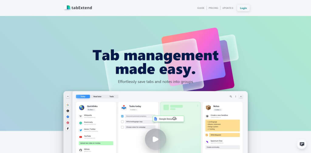 chrome tab manager firefox tab manager chrome tab management firefox tab management chrome tabExtend