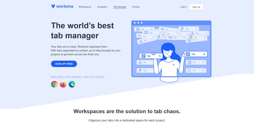 chrome tab manager firefox tab manager chrome tab management firefox tab management chrome workona