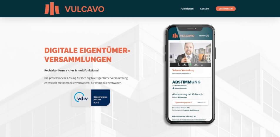 digitale eigentuemerversammlung erlaubt digitale eigentuemerversammlung software virtuelle eigentuemerversammlung vulcavo