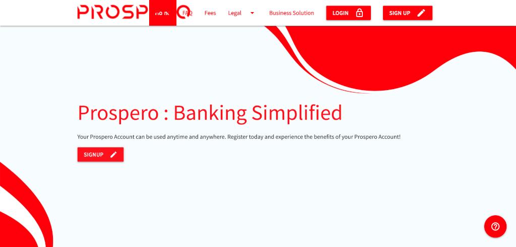 fintech banken Prospero 1