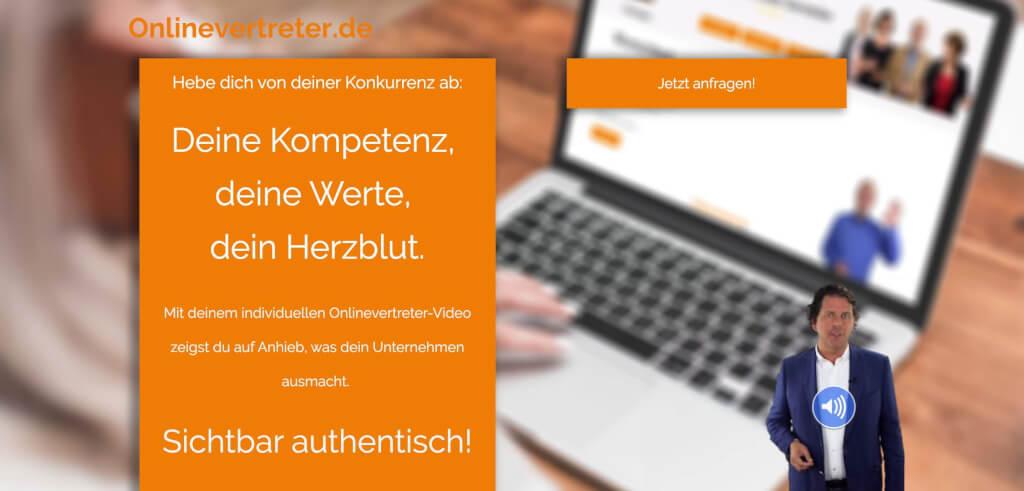 Macht deine Website authentisch Onlinevertreter de Video Chatbot Widget Digital Affin 1