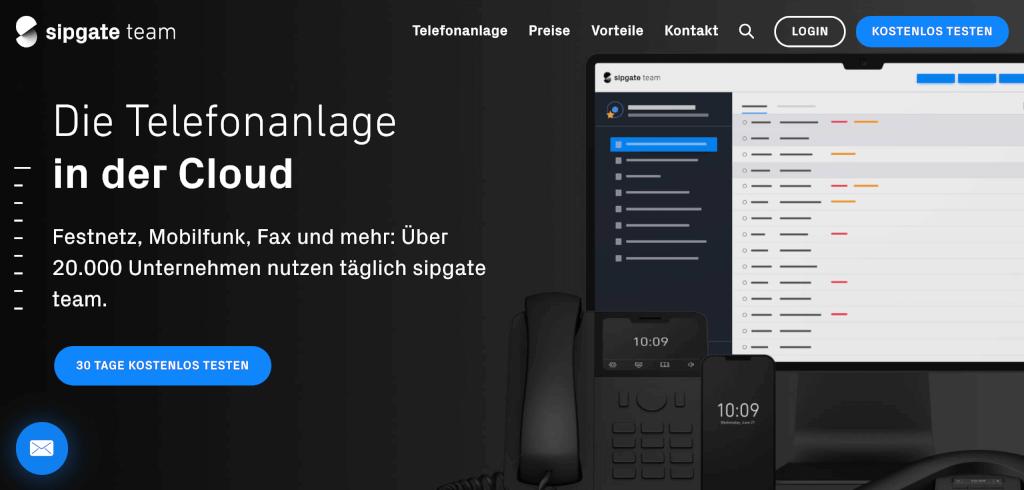VoIP Telefonie sipgate team