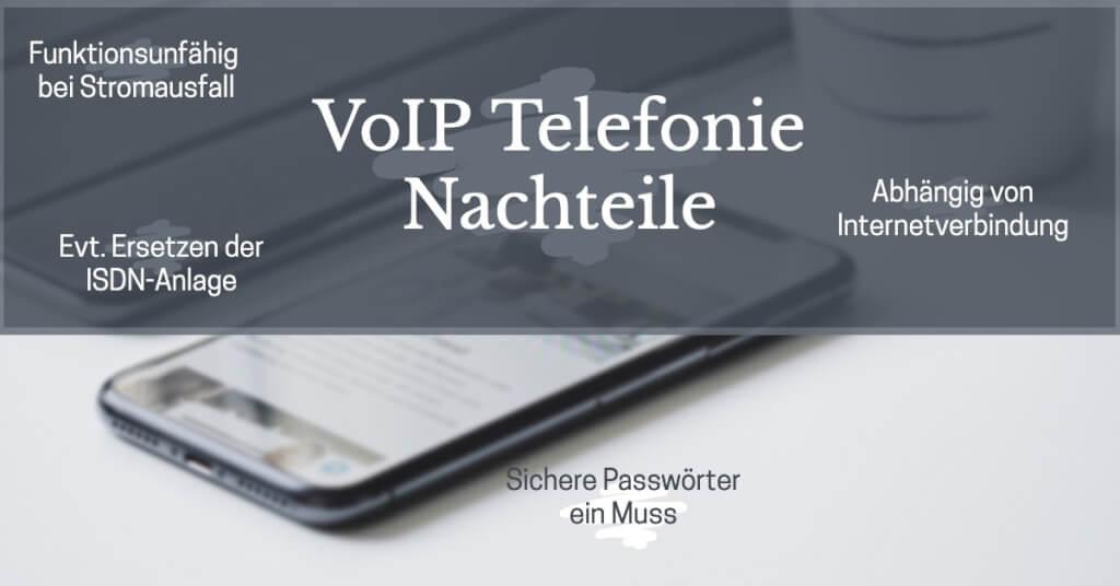 VoIP Vorteile Nachteile Nachteile