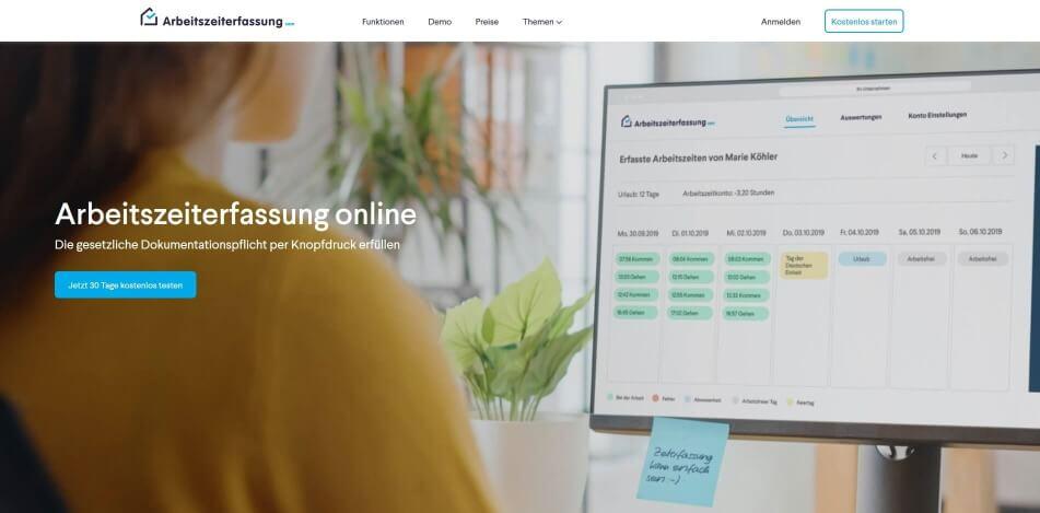 arbeitszeit digital erfassen digitale arbeitszeiterfassung zeiterfassung app digitale stempeluhr Arbeitszeiterfassung.com