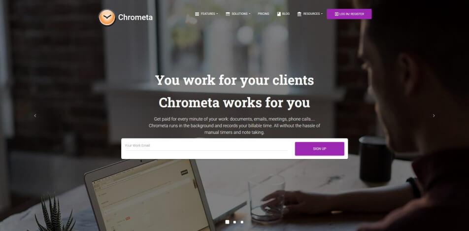 arbeitszeit digital erfassen digitale arbeitszeiterfassung zeiterfassung app digitale stempeluhr Chrometa