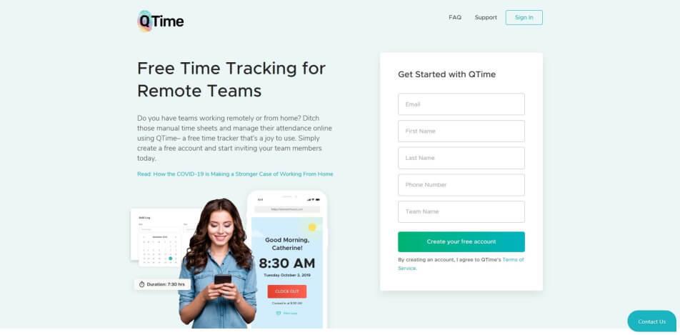 arbeitszeit digital erfassen digitale arbeitszeiterfassung zeiterfassung app digitale stempeluhr QTime