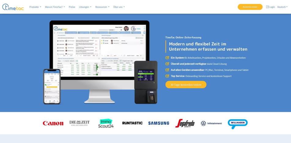 arbeitszeit digital erfassen digitale arbeitszeiterfassung zeiterfassung app digitale stempeluhr TimeTac