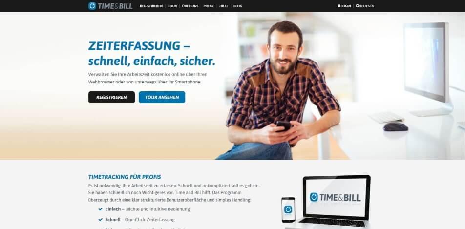 arbeitszeit digital erfassen digitale arbeitszeiterfassung zeiterfassung app digitale stempeluhr TimeandBill