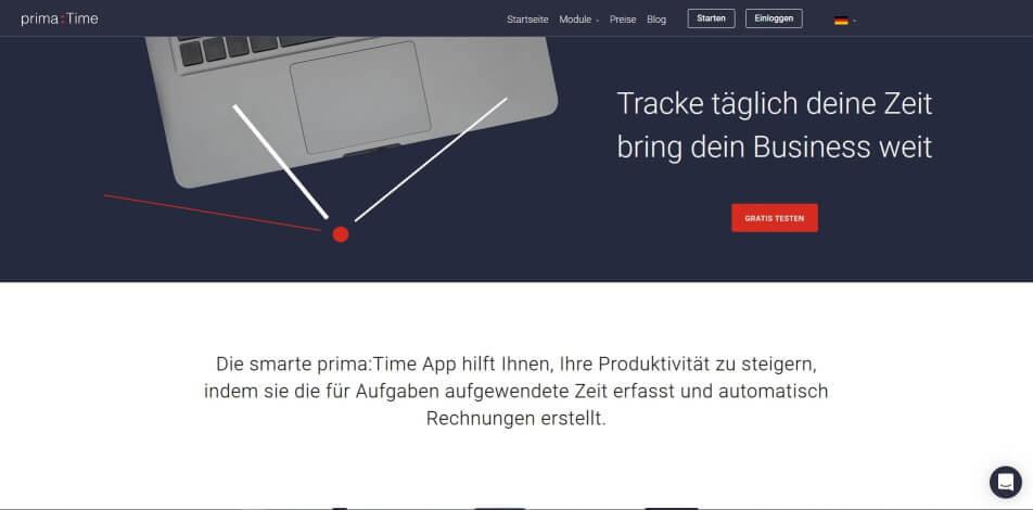 arbeitszeit digital erfassen digitale arbeitszeiterfassung zeiterfassung app digitale stempeluhr primaTime