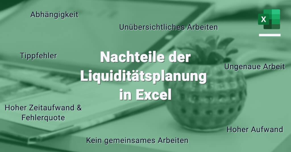 Liquiditaetsplanung Excel Nachteile