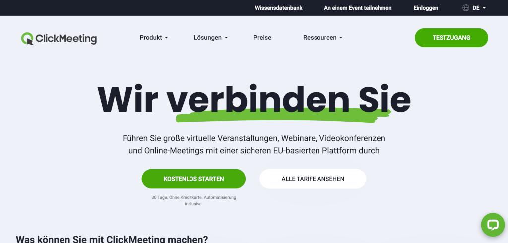 Meeting Management Software ClickMeeting