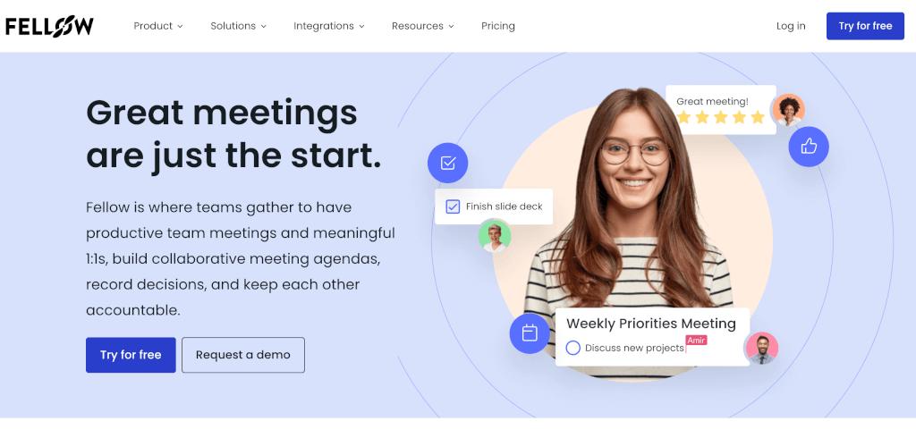 Meeting Management Software Fellow