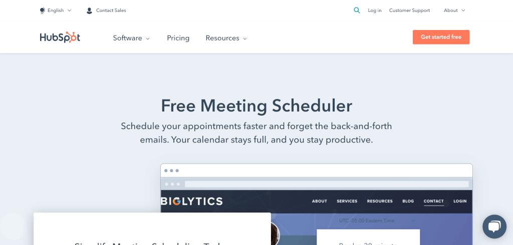 Meeting Management Software HubSpot 1