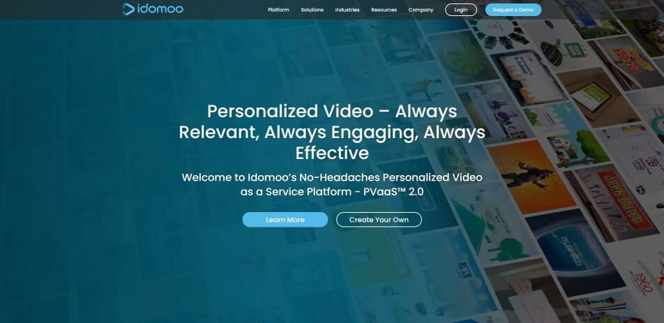 Personalisierte videos Video marketing video personalisierung video personalisieren personalisierte videos erstellen personalisiertes geburtstagsvideo erstellen idomoo