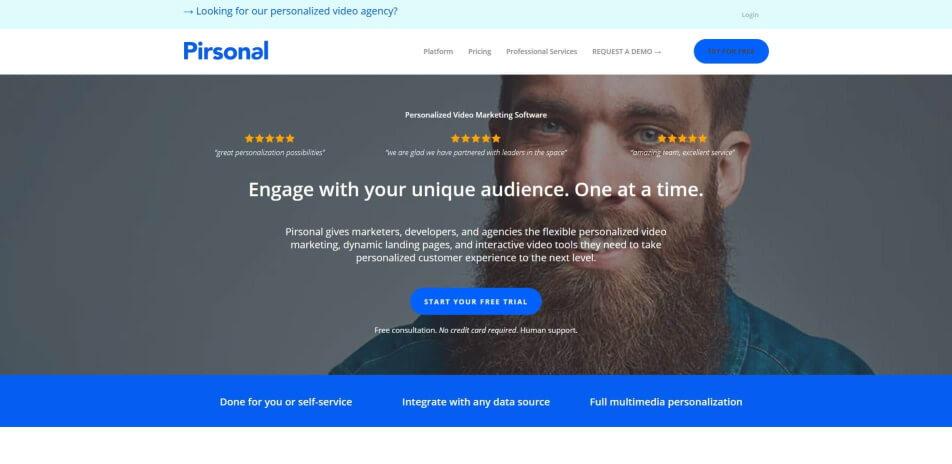 Personalisierte videos Video marketing video personalisierung video personalisieren personalisierte videos erstellen personalisiertes geburtstagsvideo erstellen pirsonal