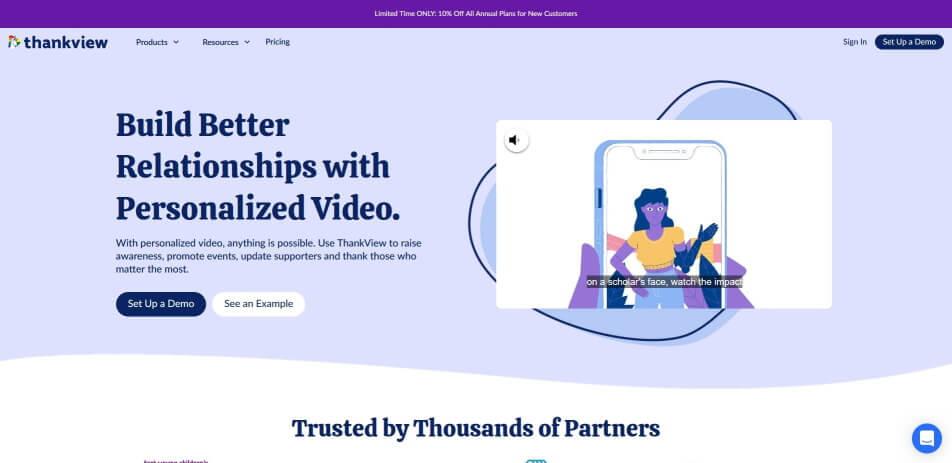 Personalisierte videos Video marketing video personalisierung video personalisieren personalisierte videos erstellen personalisiertes geburtstagsvideo erstellen thankview