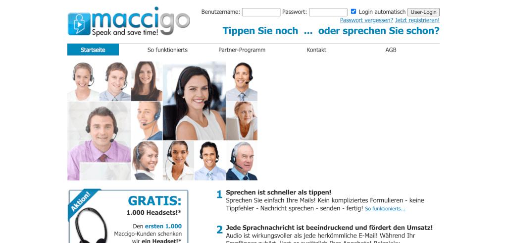 Sprachnachricht E Mail Marketing Maccigo 1
