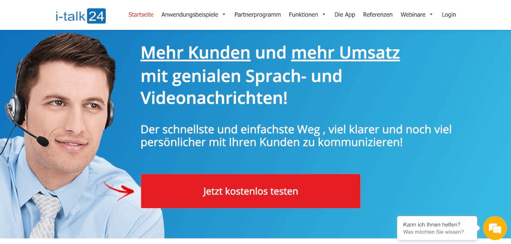 Sprachnachricht E Mail Marketing i talk24 1