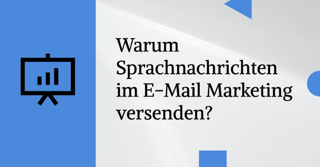 Sprachnachrichten E Mail Marketing 1