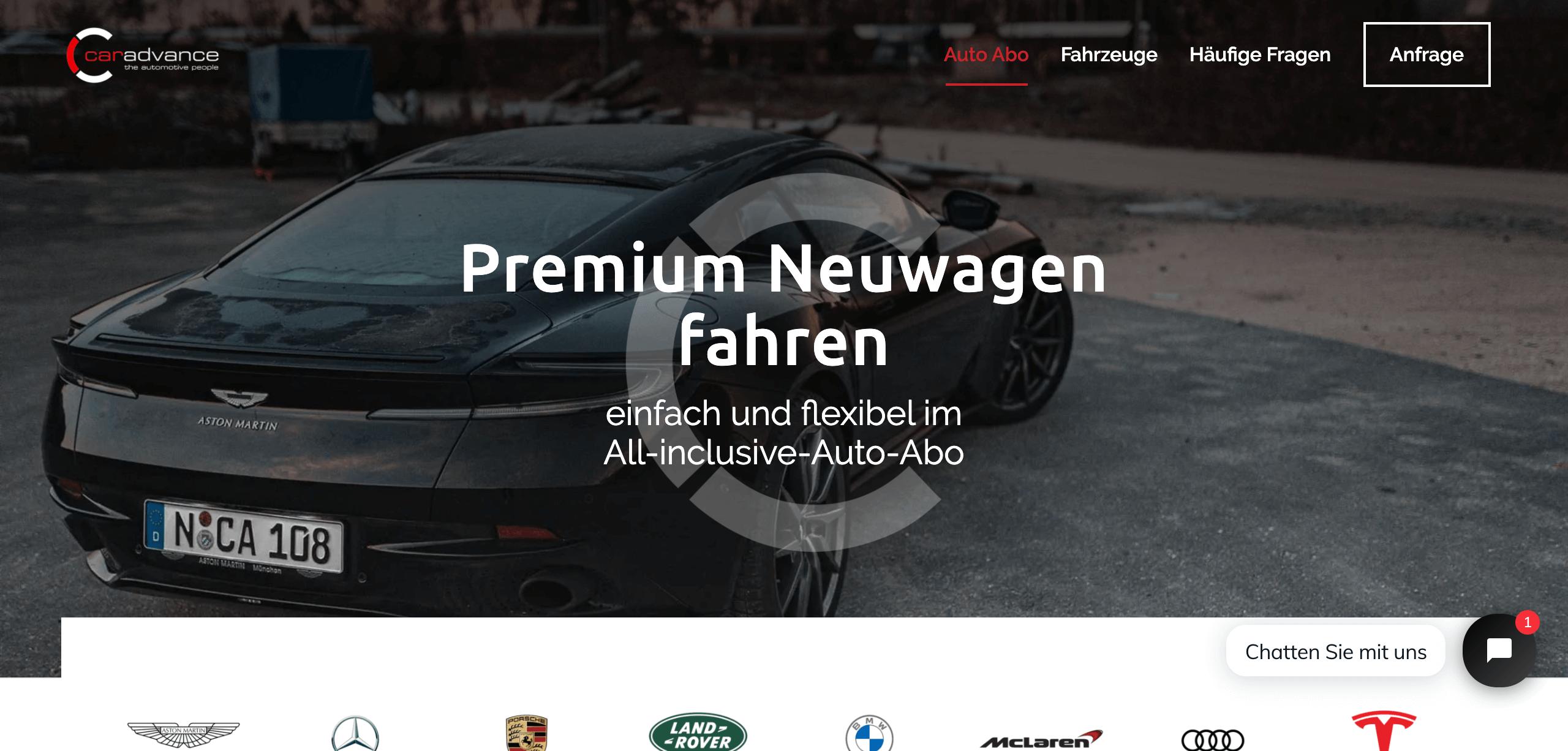 Premium Auto Abo Car Advance 1