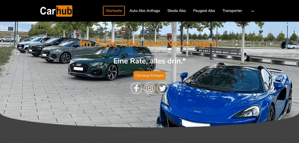 Premium Auto Abo Car Hub 1