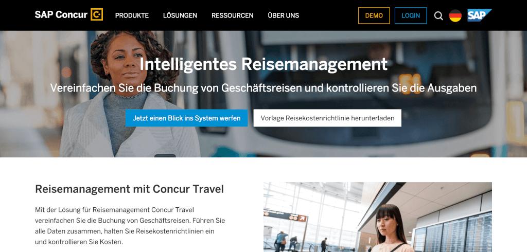 Reisekostenabrechnung digitalisieren Concur Travel 1