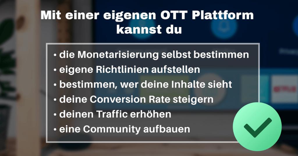 Vorteile OTT 1