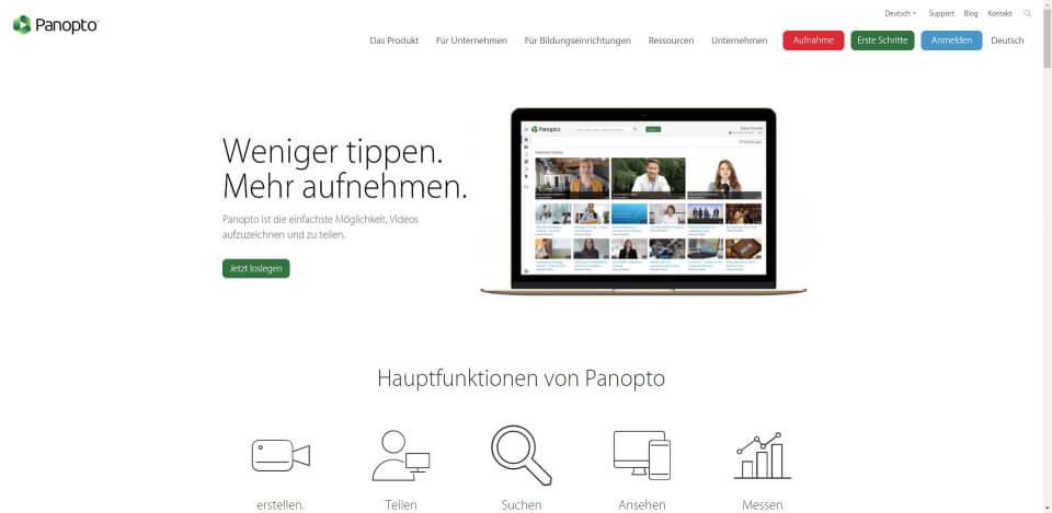video hosting kostenlos video stream hosting video hosting deutschland video hosting anbieter video hosting free video Panopto