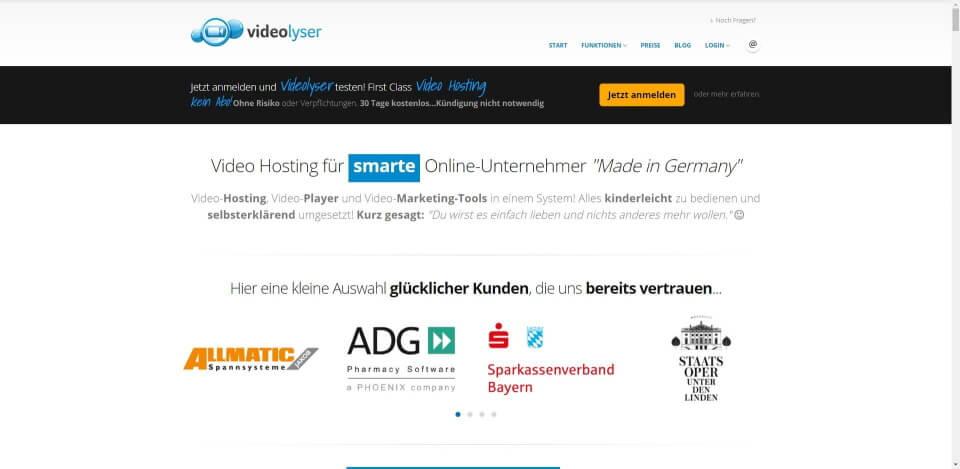 video hosting kostenlos video stream hosting video hosting deutschland video hosting anbieter video hosting free video Videolyser