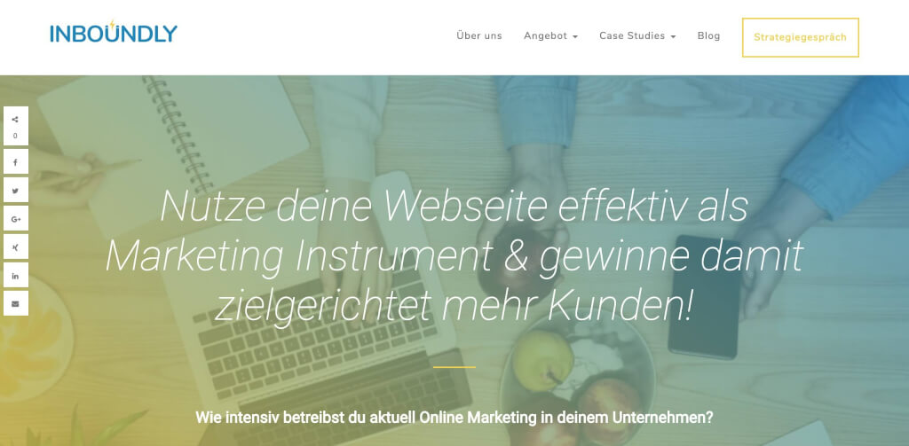 Startseite Inboundly Inbound Marketing Agentur 1