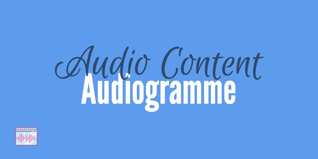 Audiogramme Audio Format Content Marketing