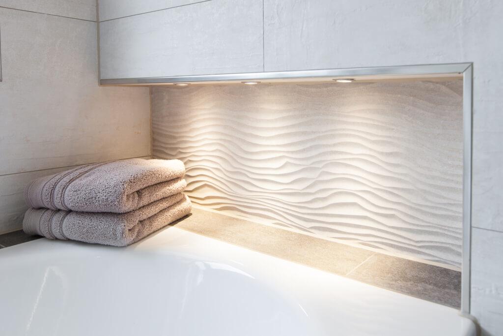 Das richtige Beleuchtungskonzept fürs Bad