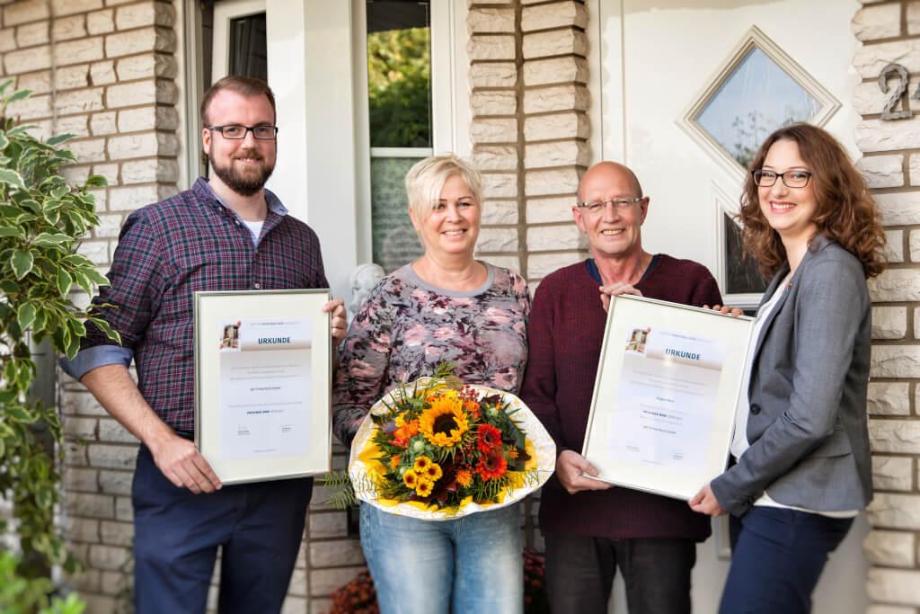 """Familie Marx aus Bad Oeynhausen gewinnt 1.000 Euro mit ihrem """"ProfiBad"""""""