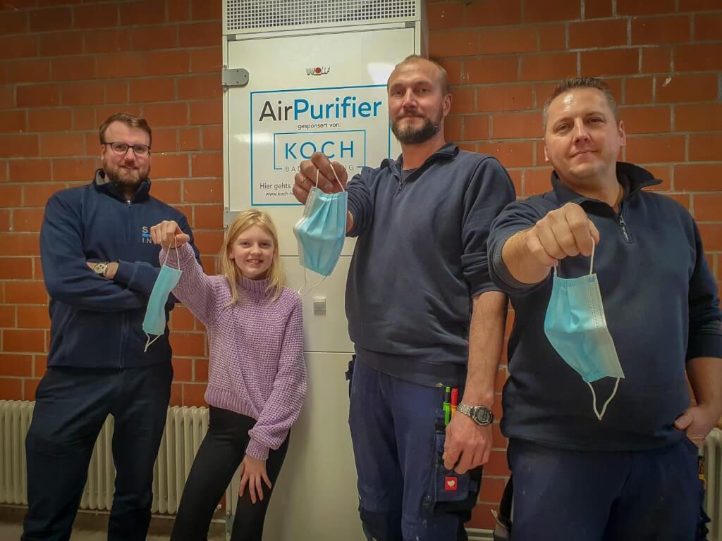 Luftfilter fürs Immanuel-Kant-Gymnasium Bad Oeynhausen