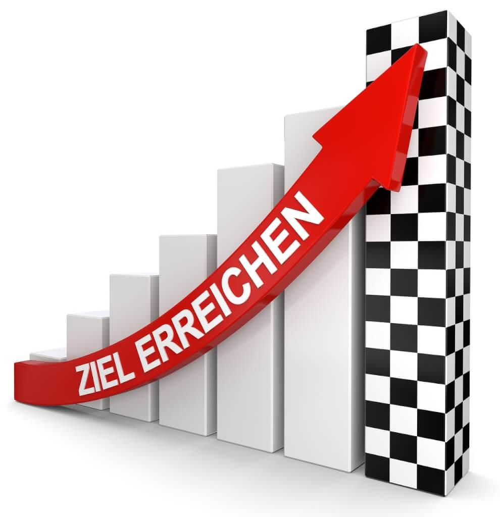 Deine Ziele erreichen! Die ultimative Anleitung, die dich garantiert durchhalten lässt!